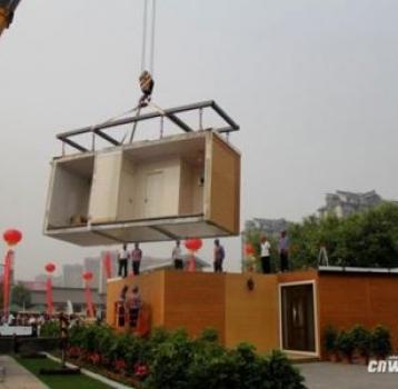 ساخت خانه در ۳ساعت