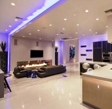 نورپردازی در طراحی داخلی ساختمان